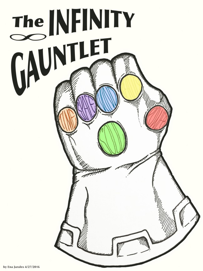 Infinity Gauntlet White