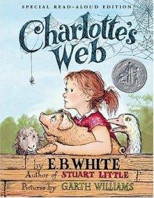 7. Charlotte's Web — E.B. White (1952)
