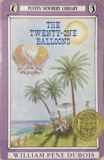 11. The Twenty-One Balloons — William Pène du Bois (1947)