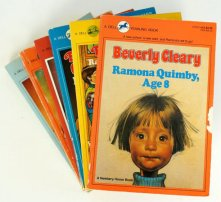 2. Ramona Quimby series — Beverly Cleary (1955-1984)