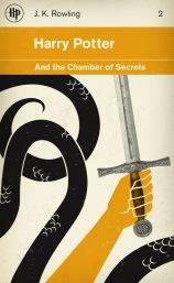 Detail: the basilisk and Godric Gryffindor's sword