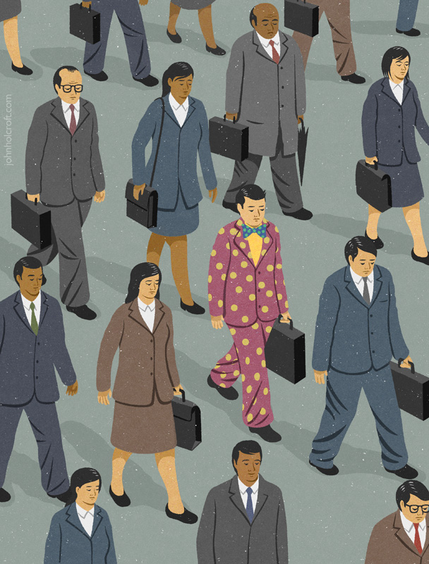 Commute by John Holcroft