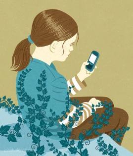 Ivy Girl by John Holcroft