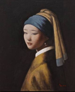 "Interpretation of Johannes Vermeer's ""Girl With a Pearl Earring"" (1665)"