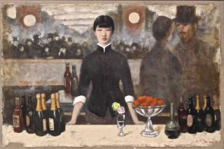 "Interpretation of Édouard Manet's ""A Bar at the Folies-Bergère"" (1882)"
